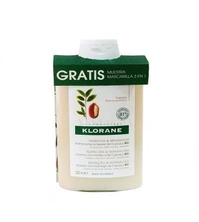 Klorane champú cupuaçú bio 200 ml