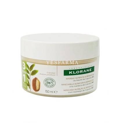 Klorane mascarilla cupuaçú 150 ml