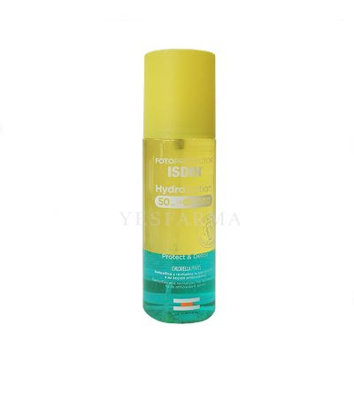 Isdin Hydro loción bifásico spf 50 protect & detox 200 ml