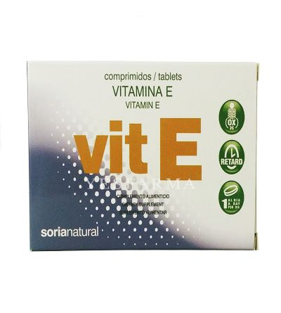 Sorianatural vitamina E retard 48 comprimidos