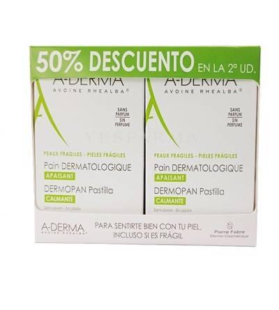 A-Derma Dermopan Extracto Avena 100 g 2 pastillas