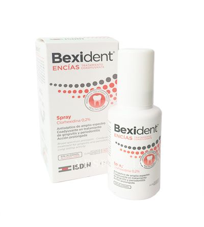 Bexident encías clorhexidina 0,2% spray 40 ml