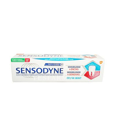 Sensodyne sensibilidad & Encías Fresh Mint 75 ml