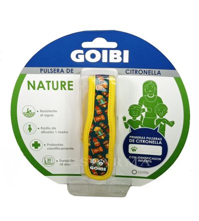 Goibi Pulsera de citronella nature tiki hawaii