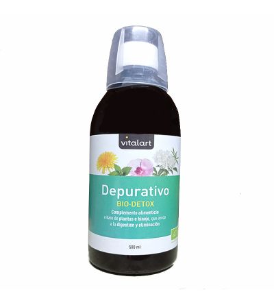 VITALART BIO DETOX DEPURATIVE 500ML (NATURES PLUS)