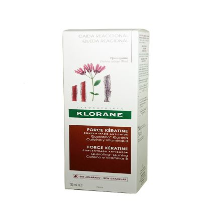 Klorane Force Keratin Concentrado anticaída 125 ml
