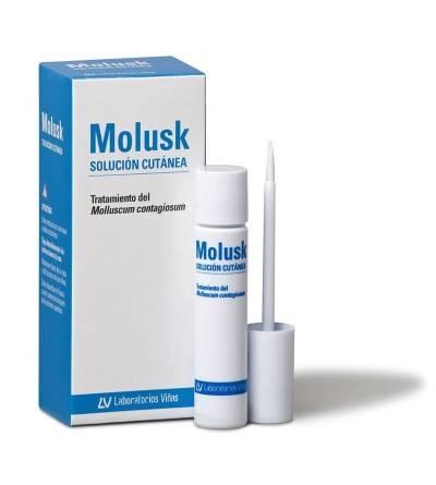 Molusk solución cutánea tratamiento molusco contagioso 3 g