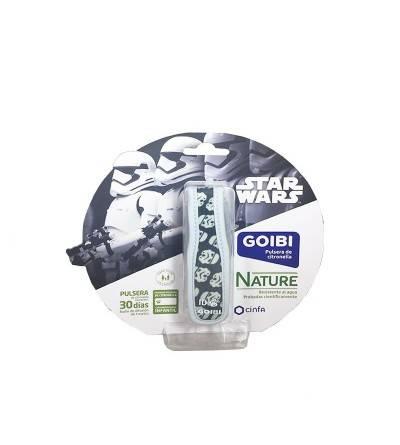 Goibi Pulsera antimosquitos Star Wars Storm Trooper