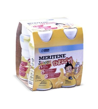 Meritene junior energy vainilla 4 botellas