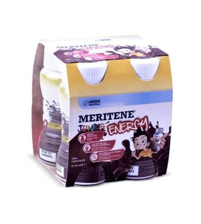 Meritene junior energy chocolate 4 botellas