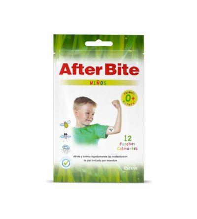 After Bite Niños parches calmantes 0 años fórmula natural 12 uds