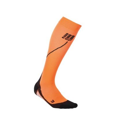 Medi CEP run socks 2.0 women night talla III naranja