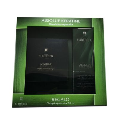 RENE ABSOLUTE KERATINE MASCARILLA + CHAMPU 200 ML