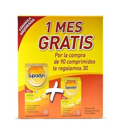 Supradyn activo 90 comprimidos + 30 comprimidos gratis