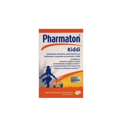 PHARMATON KIDDI COMP MASTICABLES 30 COMP