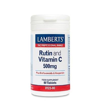 LAMBERTS RUTINA VIT. C 500MG BIOFLAVONOIDES 90CP