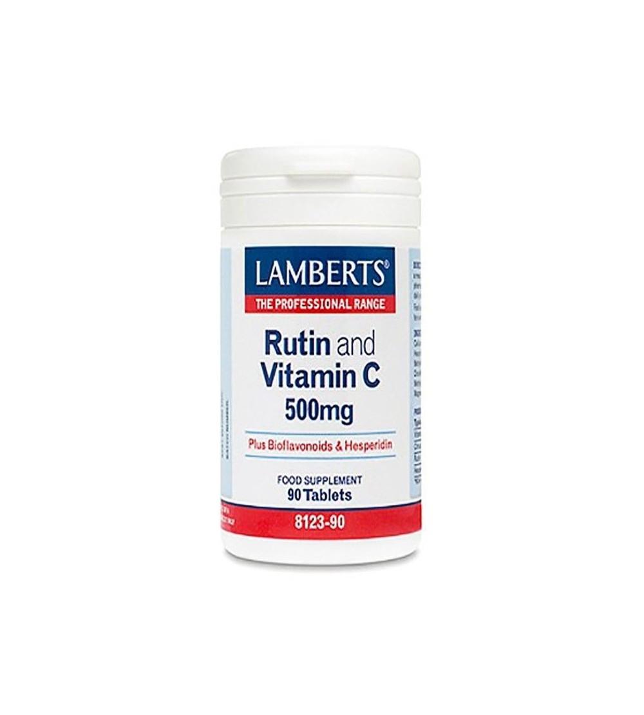 Lamberts Rutina vit. C 500 mg bioflavonoides 90 cp