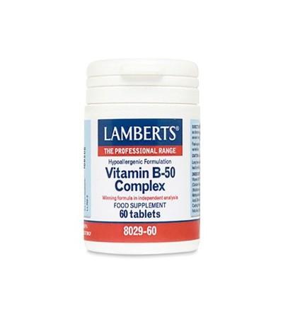 Lamberts vitamina B50 complex 60 comp