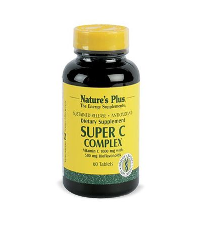 Natures Plus Super C complex + bioflavonoides 60 comp