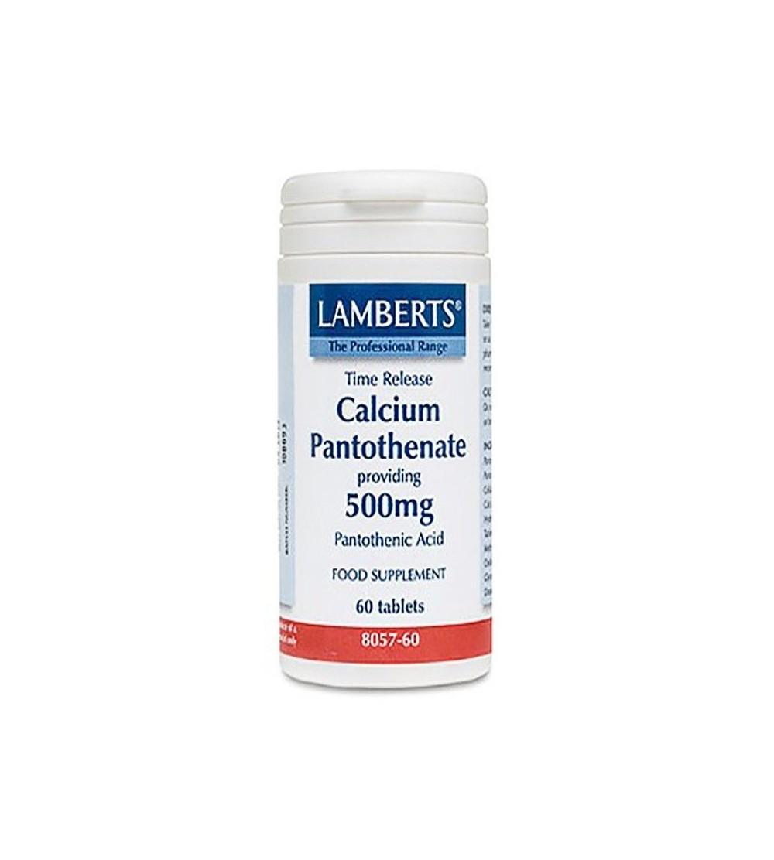 Lamberts Pantotenato calcio 500 mg 60 tab