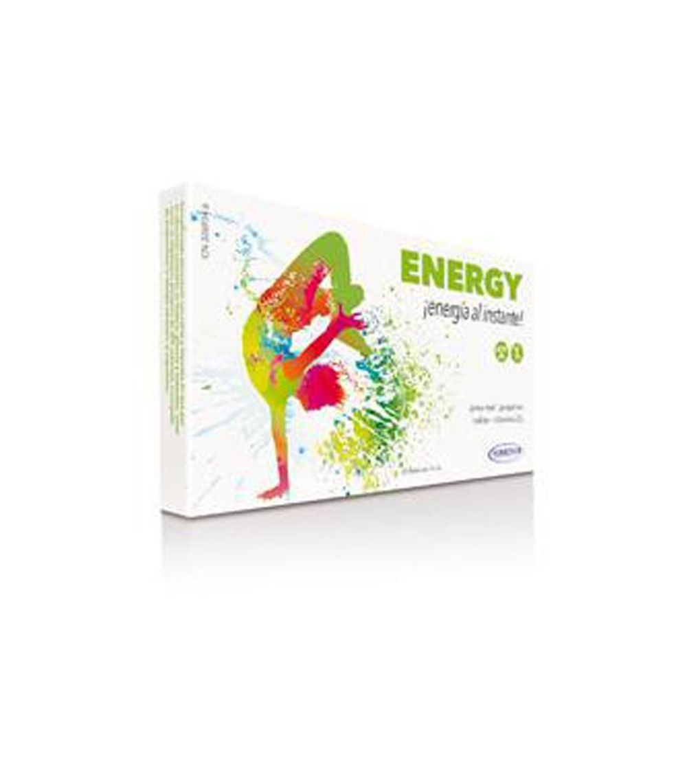 Homeosor Energy 20 Viales
