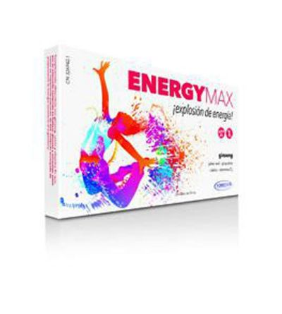HOMEOSOR ENERGY MAX 10 ML 20 VIALES