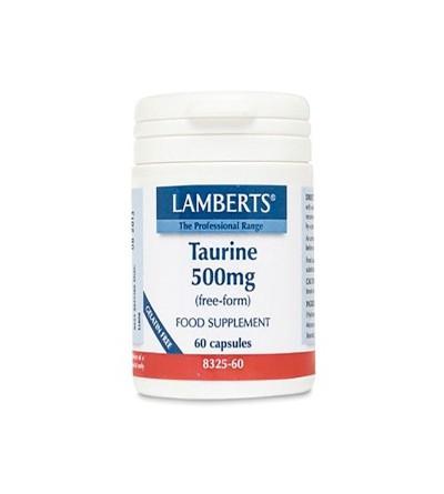LAMBERTS TAURINA 500MG 60CAPS