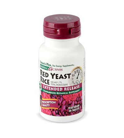 Nature's Plus Red yeast rice 30 tabletas