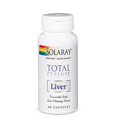 SOLARAY TOTAL CLEANSE LIVER 60 CAPS ( DEPURACION HEPATICA)