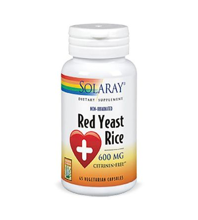 Solaray Red Yeast Rice 45 cápsulas vegetales