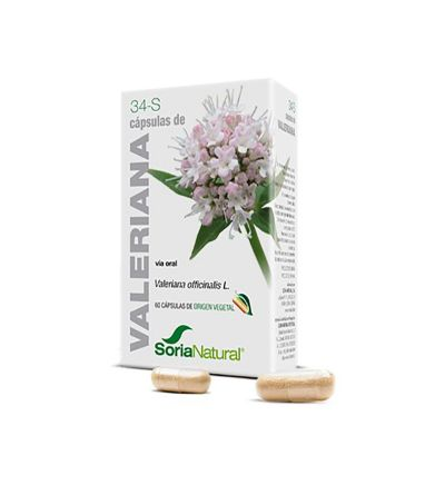 Homeosor Valeriana 400 mg 48 cápsulas