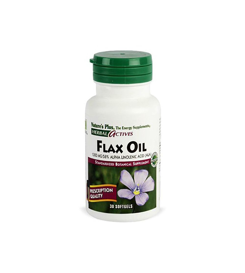 Natures Plus Flax Oil 30 perlas