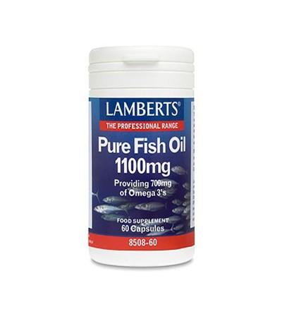 Lamberts Aceite pescado puro alta potencia 60 cáps