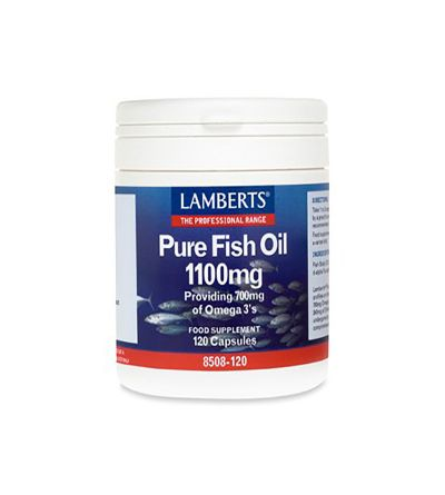 Lamberts Aceite pescado puro alta potencia 120 cáps