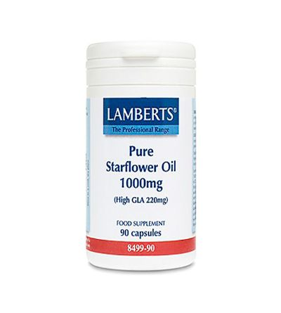Lamberts Aceite borraja 1000mg 90 cáps