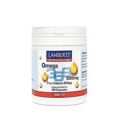 LAMBERTS OMEGA 3.6.9 + VITAMINA D 120 CAPS