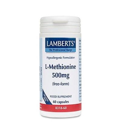 Lamberts L-metionina 500 mg 60 cáps