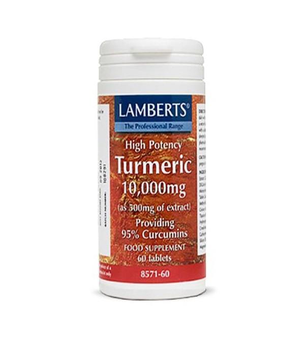 Lamberts Curcuma -turmeric 10000 mg 60 comp