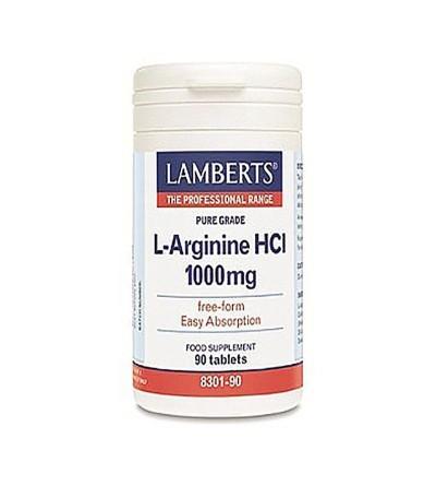 Lamberts L-arginina 1000 mg 90 cáps