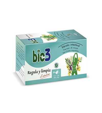 BIE3 TRANSITO INTESTINAL 25 FILTROS (REGULA Y LIMPIA)