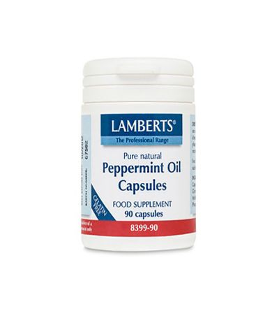 Lamberts Aceite hojas menta 50 mg 90 cáps