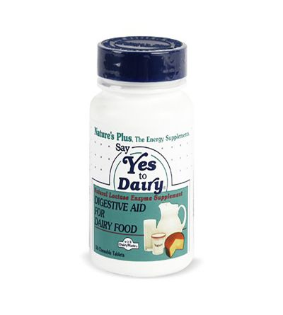 Natures Plus Say yes to dairy 50 comp
