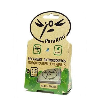ParaKito pastilla antimosquitos recambio pulsera 2 ud