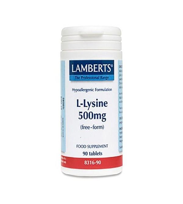 Lamberts L-lysine 500 mg 120 comp