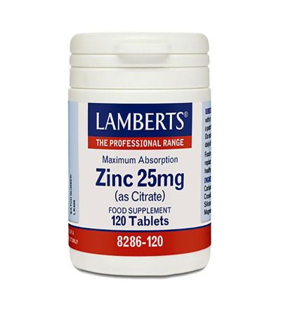 Lamberts Zinc citrato 25 mg 120 comp