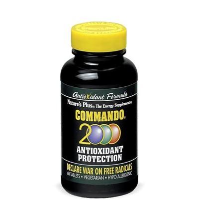 Natures Plus Comando 2000 60 comprimidos