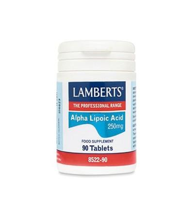 Lamberts Ácido alfa lipoico 300 mg 90 cp