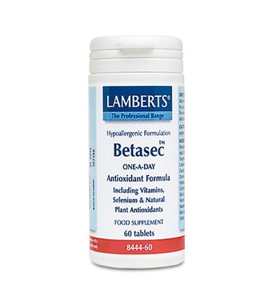 Lamberts Betasec antioxidante 60 tab