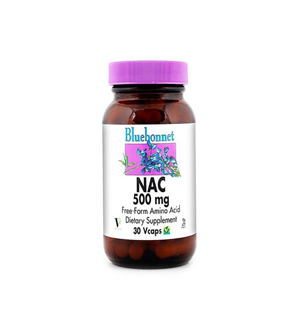 Bluebonnet NAC 500 mg 30 vegicaps