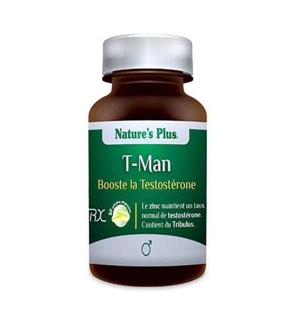 Natures Plus T-Man 30 cápsulas